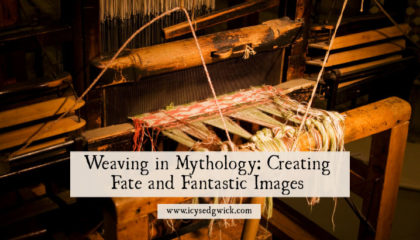 Many tales of weaving in mythology feature figures who weave fate into reality. Meet the makers from ancient Greece, Norse legends, and even literature!