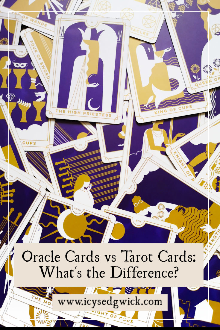 When you're looking for cards for divination, which are better, oracle or tarot cards? Let's explore the oracle cards vs tarot cards debate.