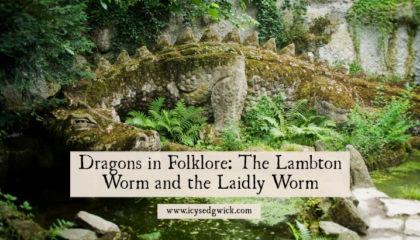 There are tales of dragons in folklore all over the world. But how do the worm tales of northern England differ from traditional dragon legends?