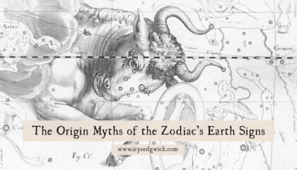 The signs of the Zodiac have their own origin myths. Let's look at the legends behind the earth signs: Taurus, Virgo, and Capricorn!