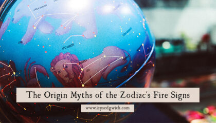 The signs of the Zodiac have their own origin myths. Let's look at the legends behind the fire signs: Aries, Leo, and Sagittarius!