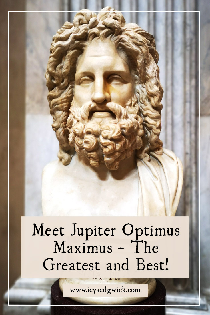 Jupiter was the chief of the Roman gods, but also the representative of the Roman state. Find out more about this famous thunder god.
