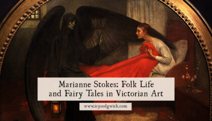 Marianne Stokes illustrated fairy tales and created a visual record of traditional Slavic dress in 1905-08. Find out more here.