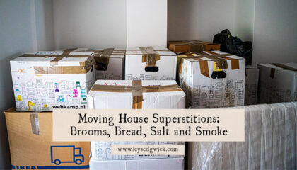 Moving is a stressful thing to do, but there is a host of moving house superstitions to bring you luck and good fortune in your new home.